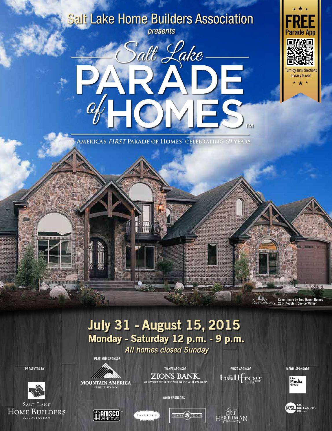Salt Lake Parade of Homes 2015 by Utah Media Group - issuu