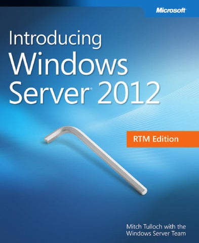 Microsoft press ebook introducing windows server 2012 pdf by Mohd