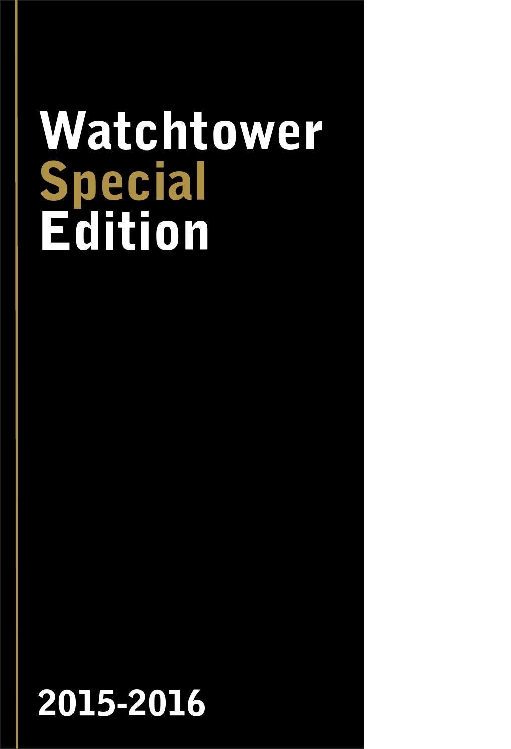 Watchtower special edition by Highlights - issuu