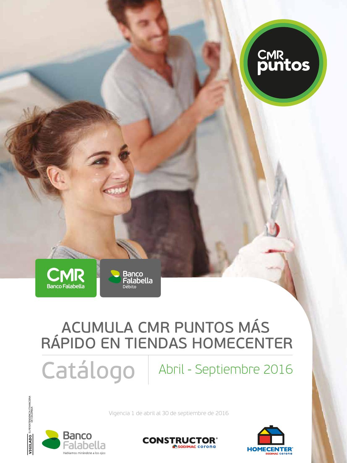 Cat Logo Puntos Abril Septiembre 2016 By Banco Falabella  # Muebles Falabella Cali