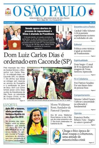 7dba20c1f9e O SÃO PAULO - 3101 by jornal O SAO PAULO - issuu