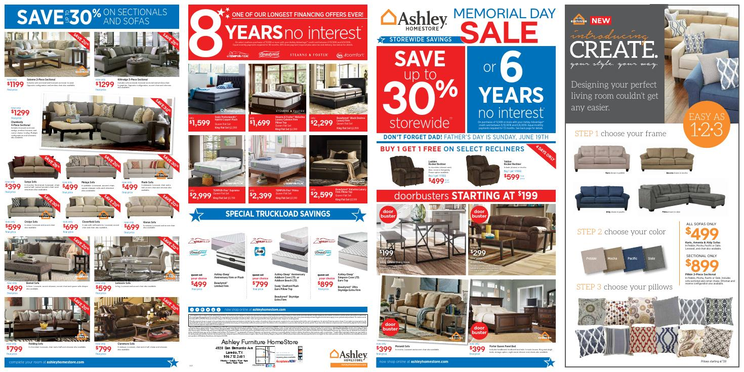 Ashley Furniture Store Card