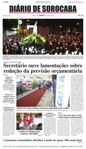 a3ec31e443 Edição de 14 de abril de 2016 by DIÁRIO DE SOROCABA - issuu