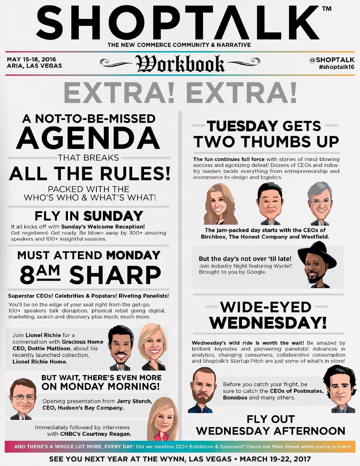 Shoptak 2016 Workbook by Shoptalk - issuu