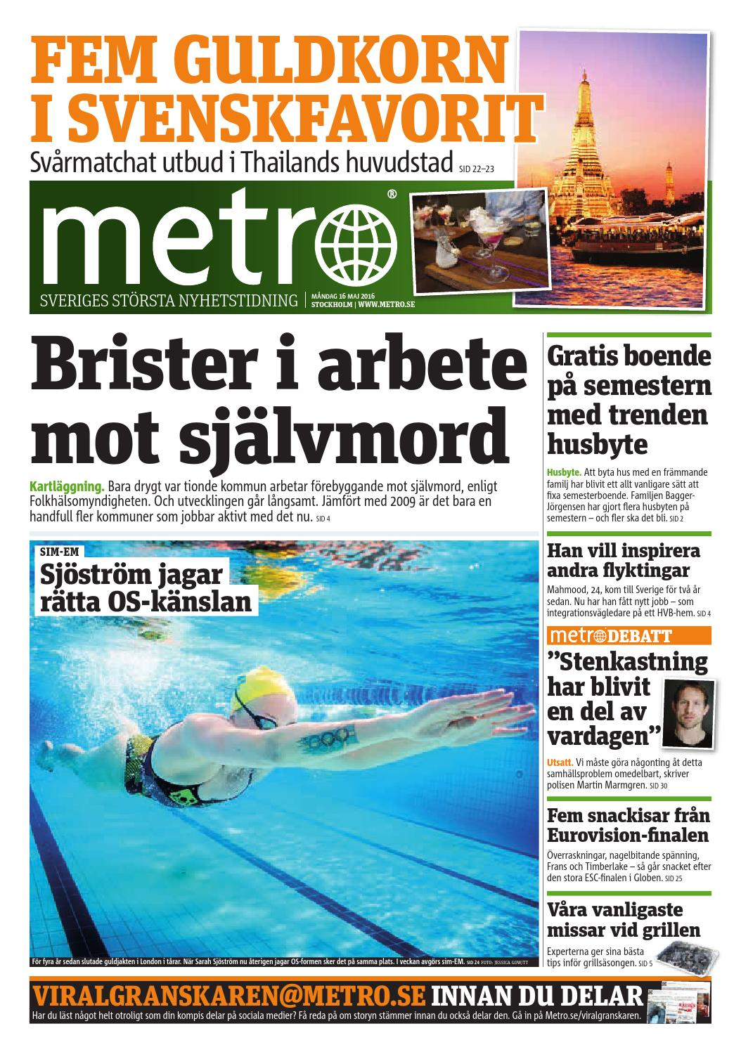 20160516 se stockholm by Metro Sweden - issuu 2667949c52ba0
