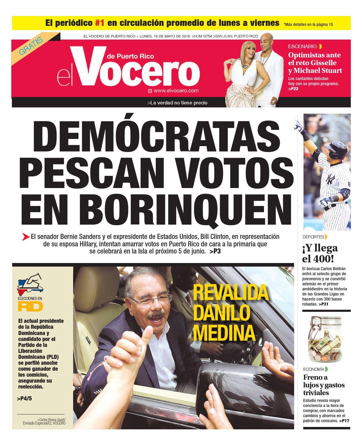 Edición 16 de Mayo 2016 by El Vocero de Puerto Rico - issuu 614e05ae6cc