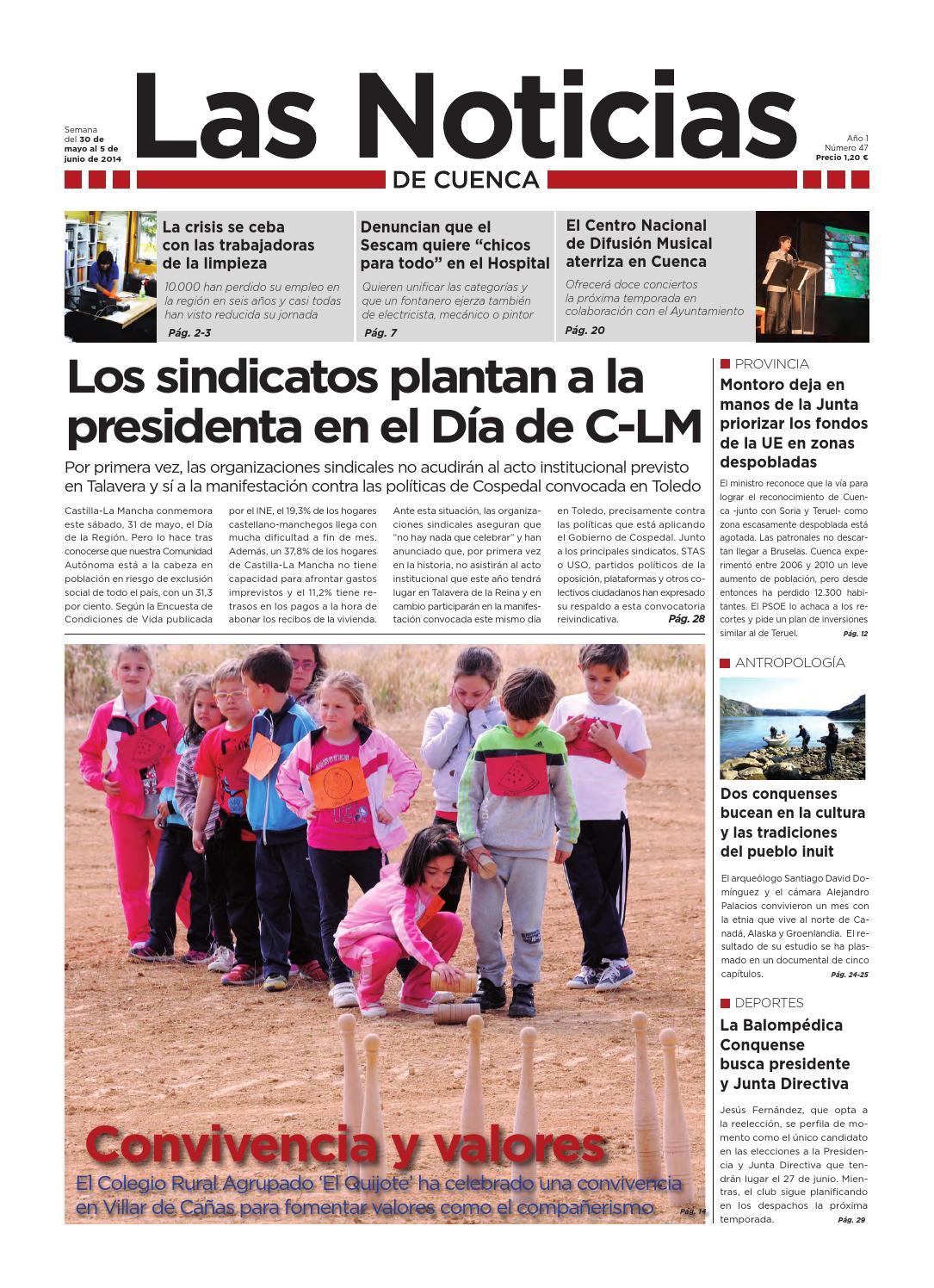 Las noticias de cuenca nº 47 by Las Noticias de Cuenca - issuu