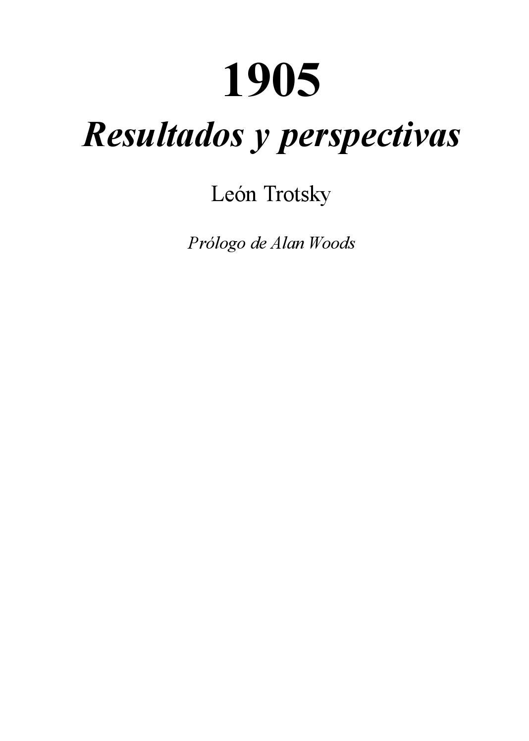 Trotsky 1905 - resultados y perspectivas by Centro de Estudios Socialistas  Carlos Marx - issuu cb0125bb905