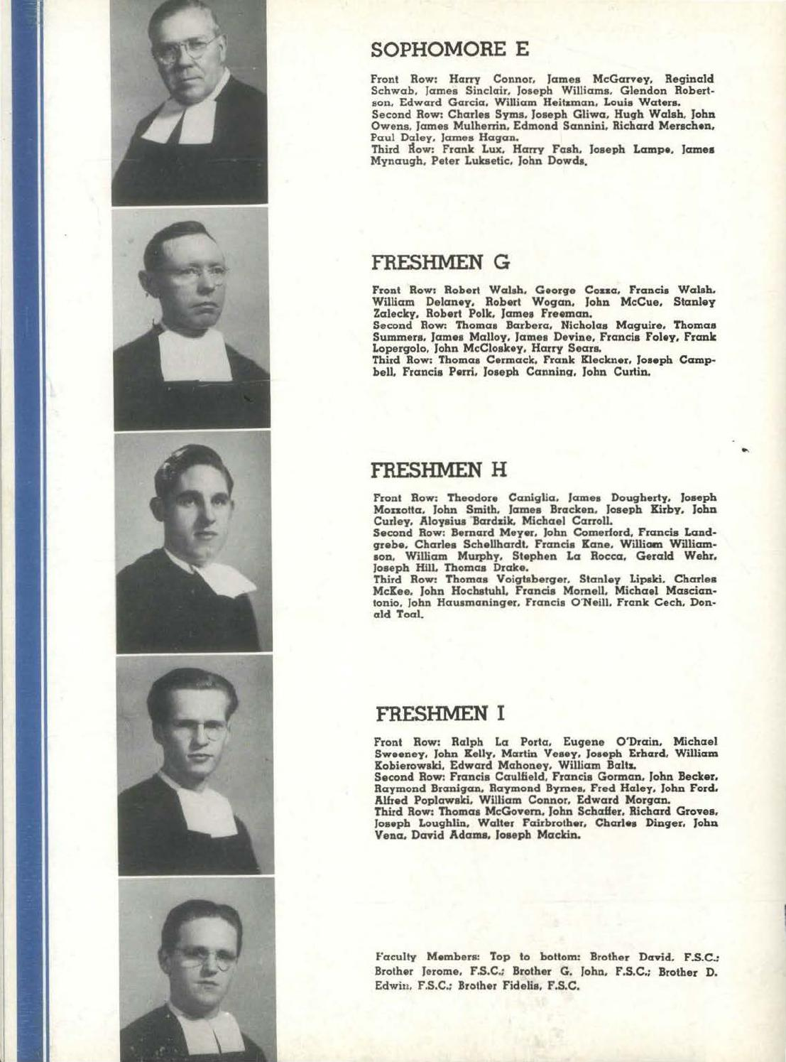 1943 Blue and Gold Yearbook by La Salle College High School - issuu