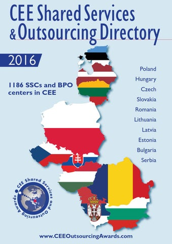 Cee Shared Services And Outsourcing Directory 2016 By