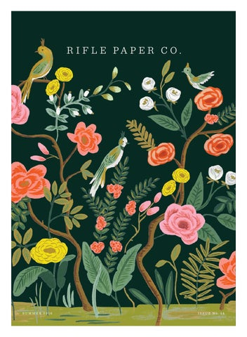 Rifle Paper Company Summer 2016 Catalog By Daniel Richards