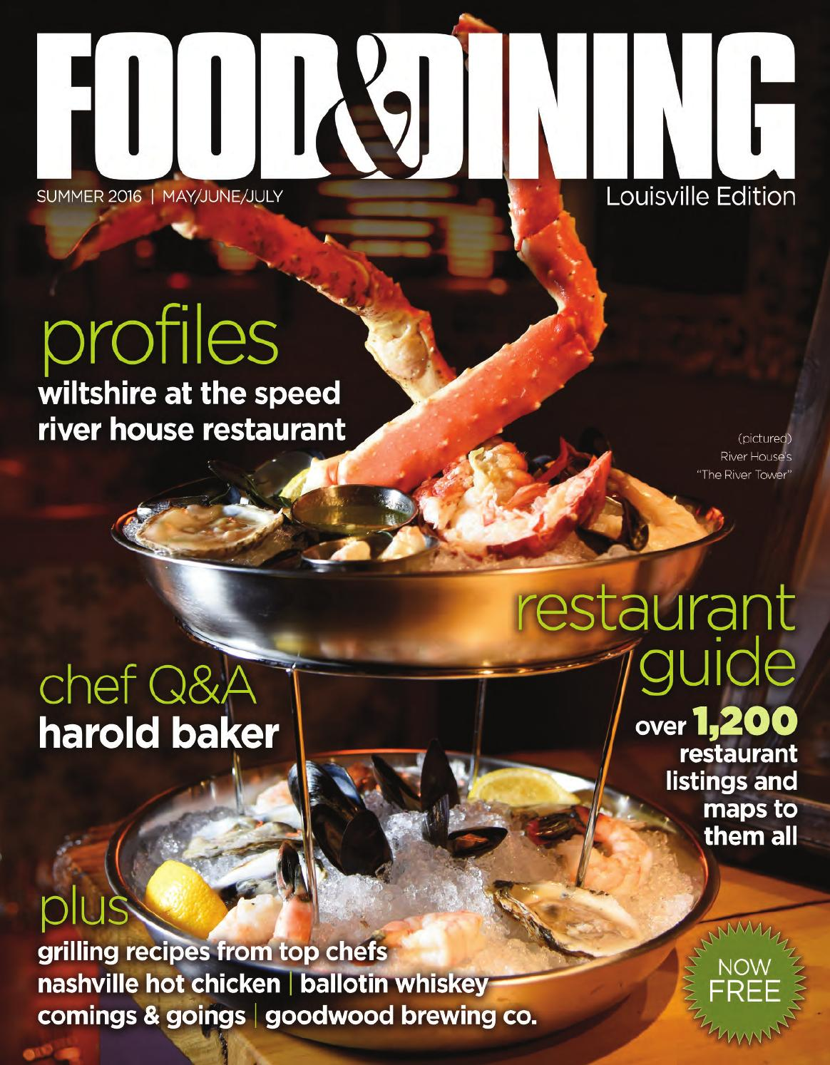 Summer 2016 (vol 52) by Food & Dining Magazine - issuu