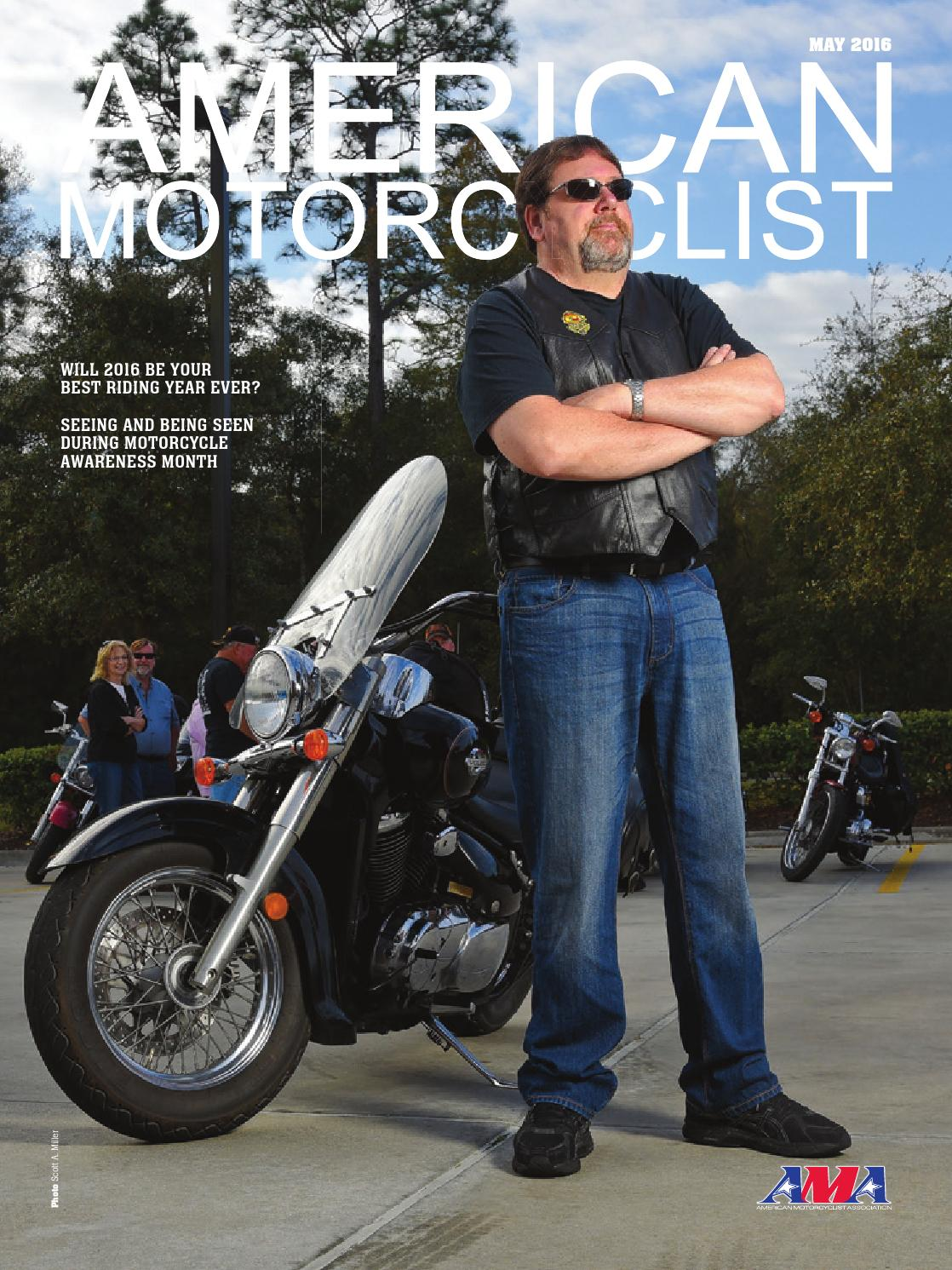 good american motorcyclist #5: American Motorcyclist May 2016 Street by American Motorcyclist Association  - issuu