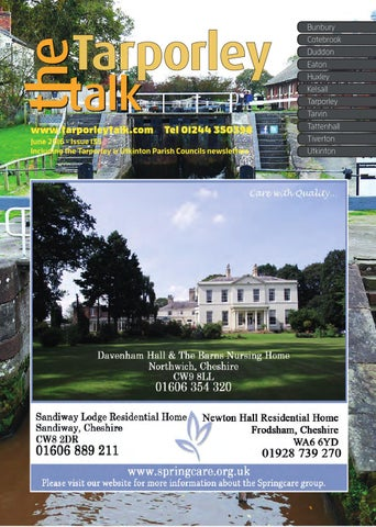 Tarporley Talk June 2016 By Talkabout Publishing Issuu