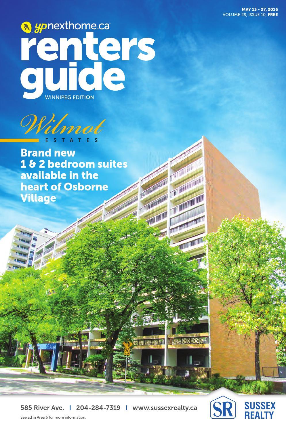 WINNIPEG Renters Guide - 13 May, 2016 by NextHome - issuu
