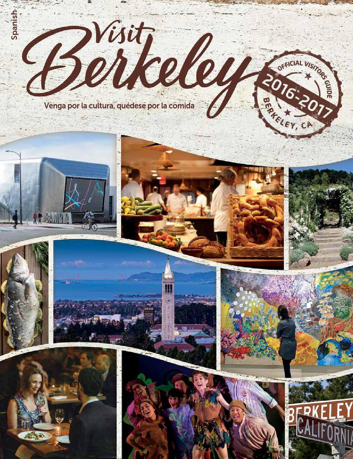 Berkeley Visitors Guide 16/17 - Spanish by Visit Berkeley - issuu