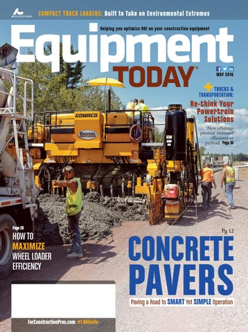 Equipment Today May 2016 by ForConstructionPros.com - issuu on