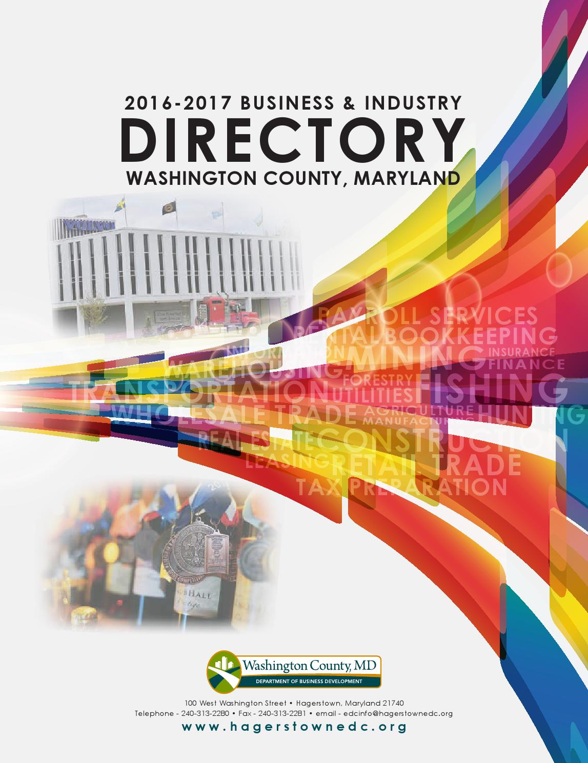 2016 2017 Business Industry Directory For Washington County Md By Hunter 44132 Wiring Diagram Linda Spence Issuu