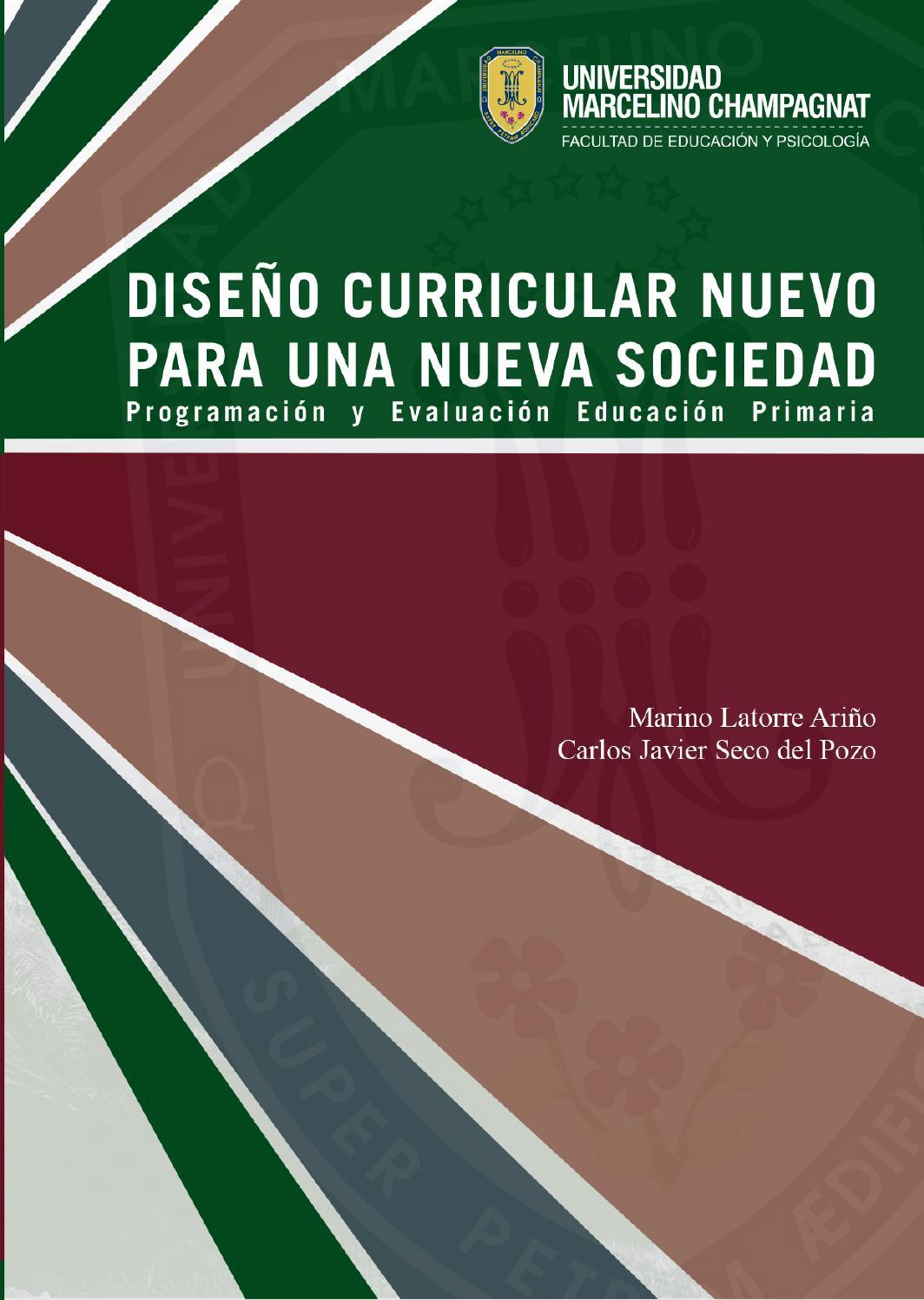 Dise o curricular nuevo para una nueva sociedad for Diseno curricular primaria