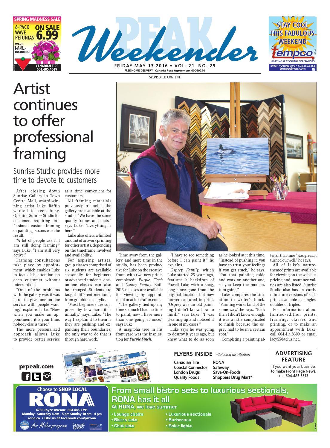 Weekender VOL 21 Issue 29 by Powell River Peak - issuu