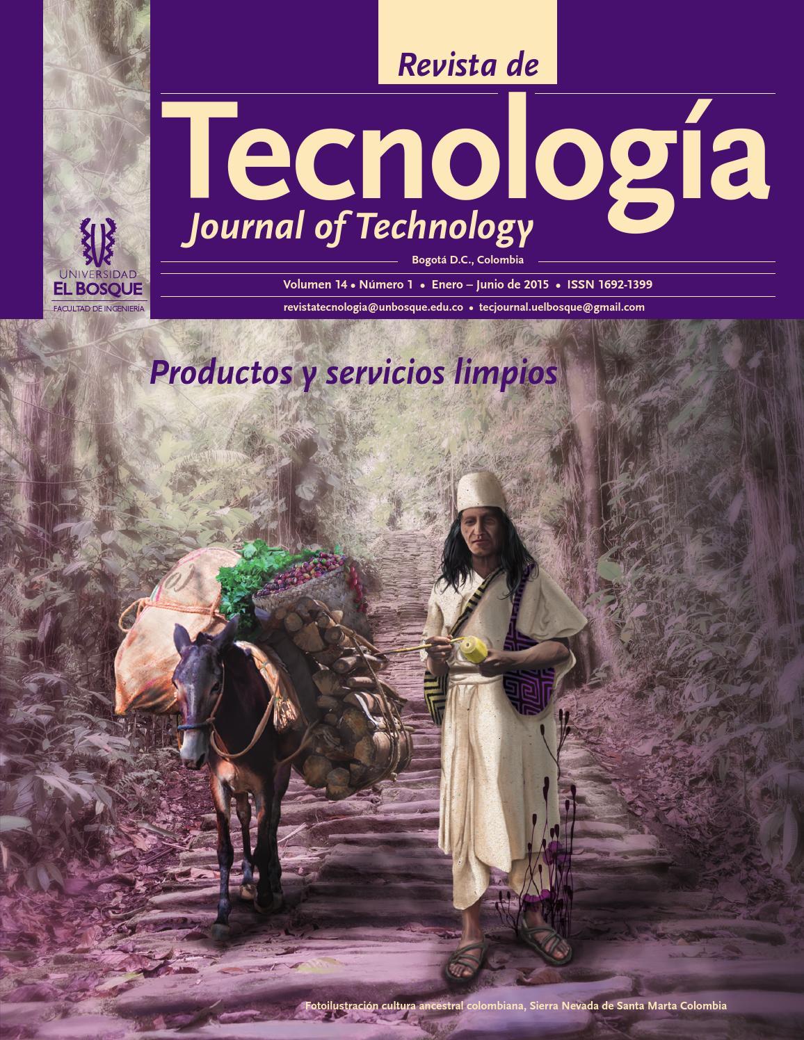Revista de Tecnología - Journal of Technology by Universidad El ...
