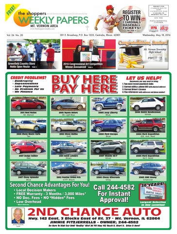 Mt Vernon Car Dealerships >> The Shopper S Weekly Papers Mt Vernon Area By Scott