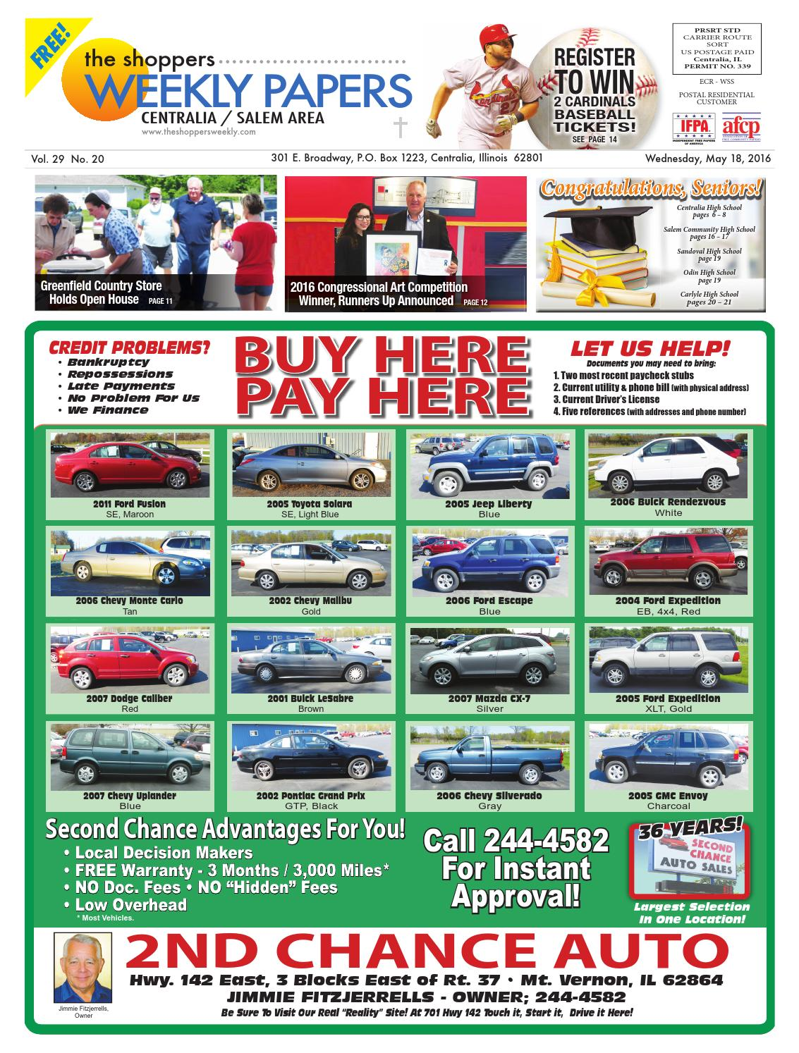 The Shopper's Weekly - Centralia/Salem Area by Scott ...