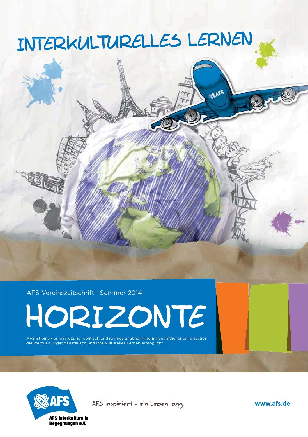 Horizonte Sommer 2014 by AFS Virtual Museum Library - issuu