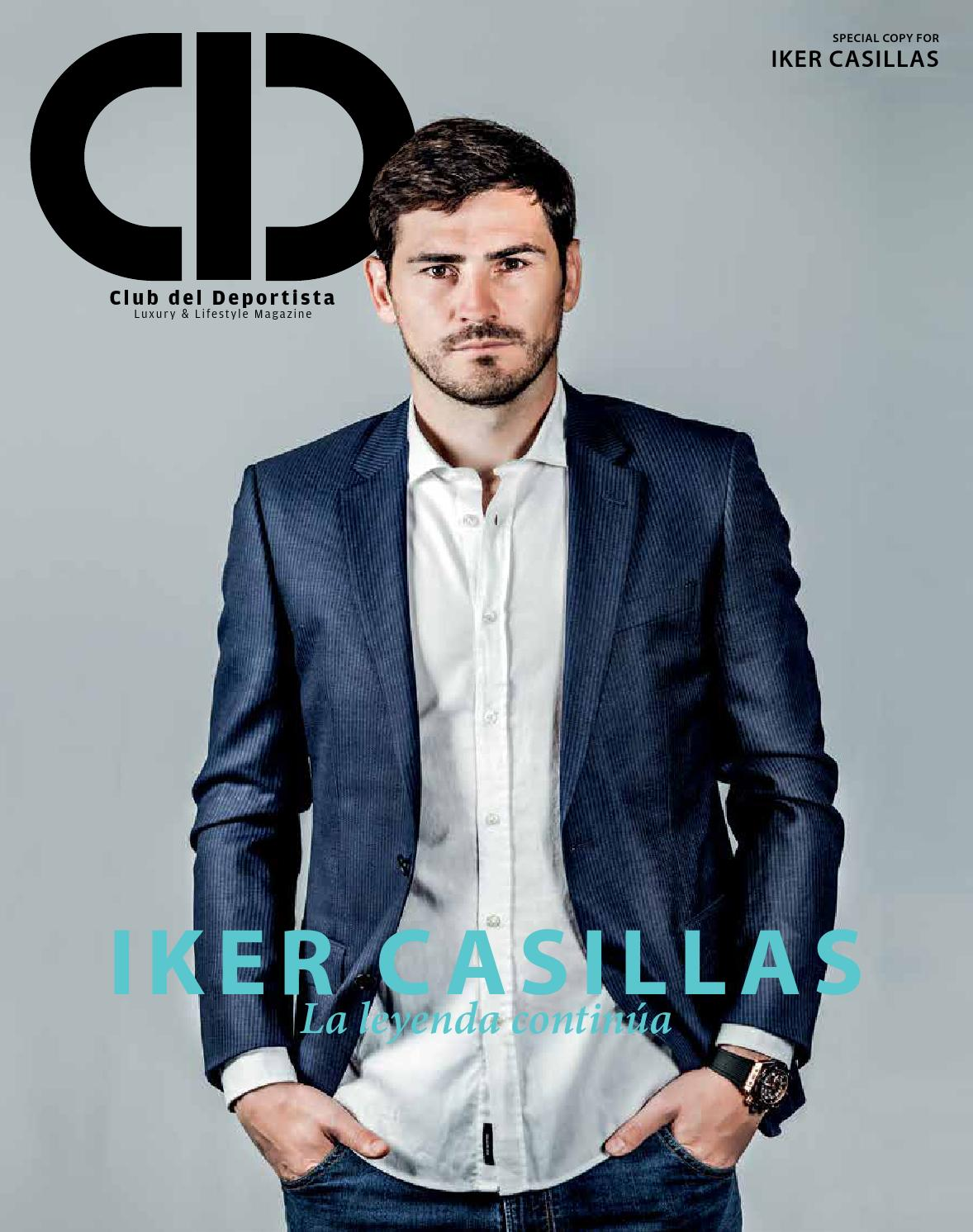 Iker Casillas by Club del Deportista - issuu c5a89aefea8b