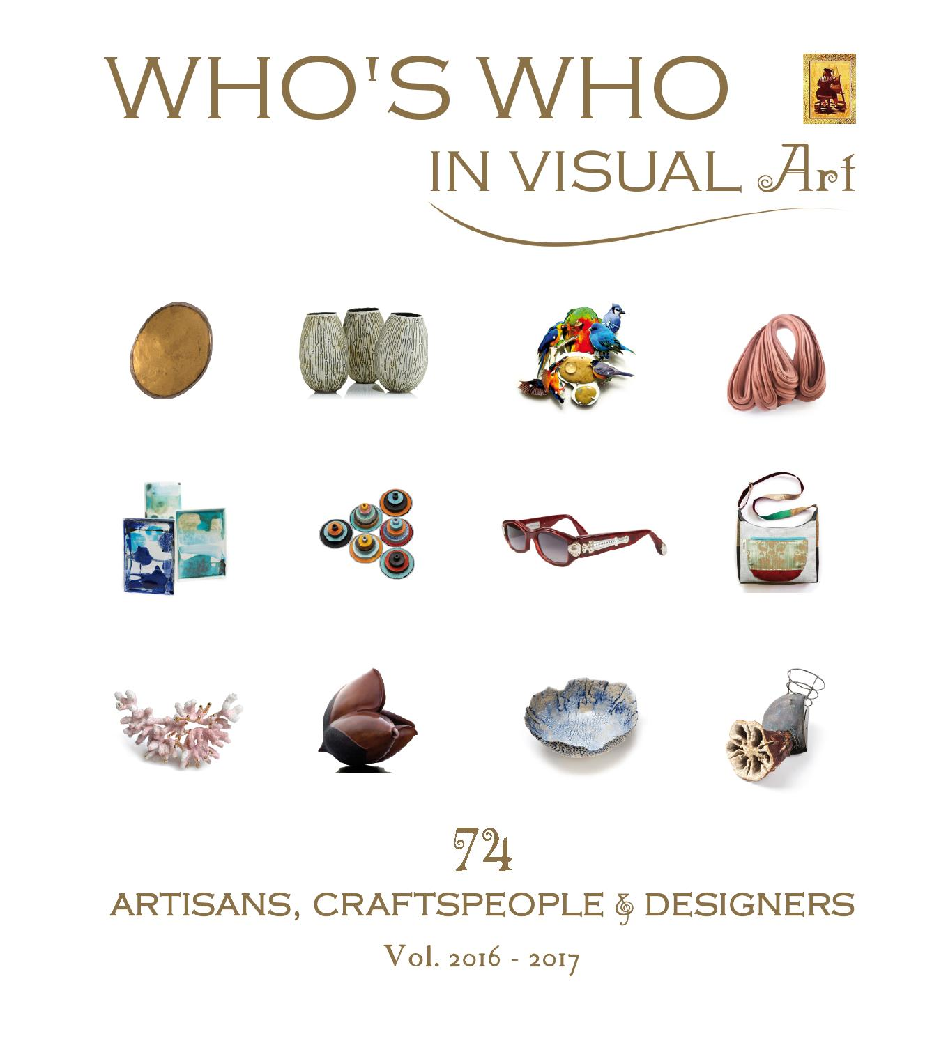Whos who in visual art 74 artisans craftspeople designers by whos who in visual art 74 artisans craftspeople designers by jrg ullmann issuu buycottarizona
