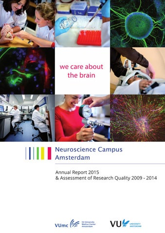 Nca Annual Report 2015 And September 2009 2014 By Vrije Universiteit