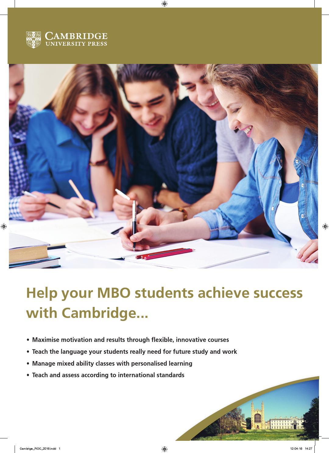 Cambridge mbo brochure by cambridge university press benelux issuu fandeluxe Choice Image