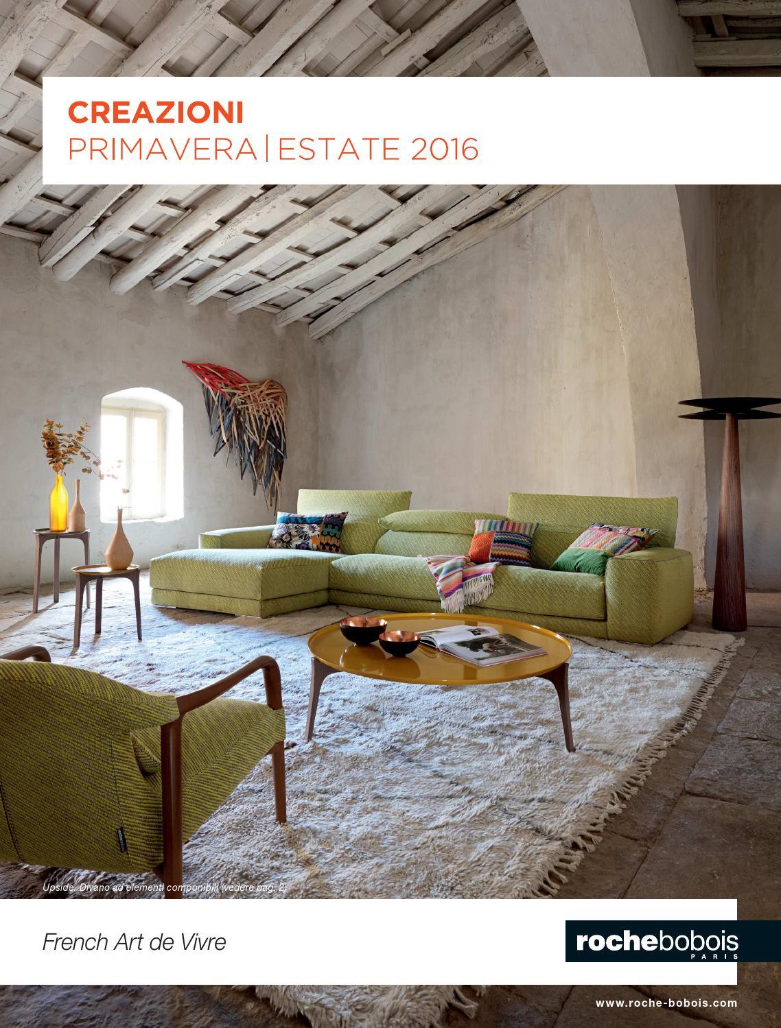 catalogue roche bobois primavera 2016 by mobilpro issuu. Black Bedroom Furniture Sets. Home Design Ideas
