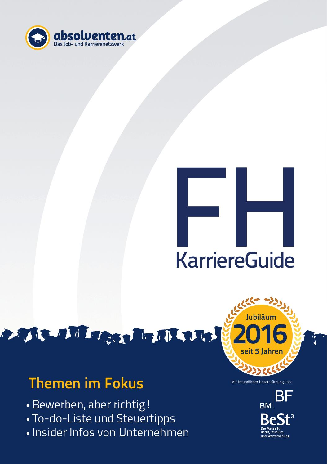 absolventen.at FH-KarriereGuide 2016 by Business Cluster Network GmbH -  issuu