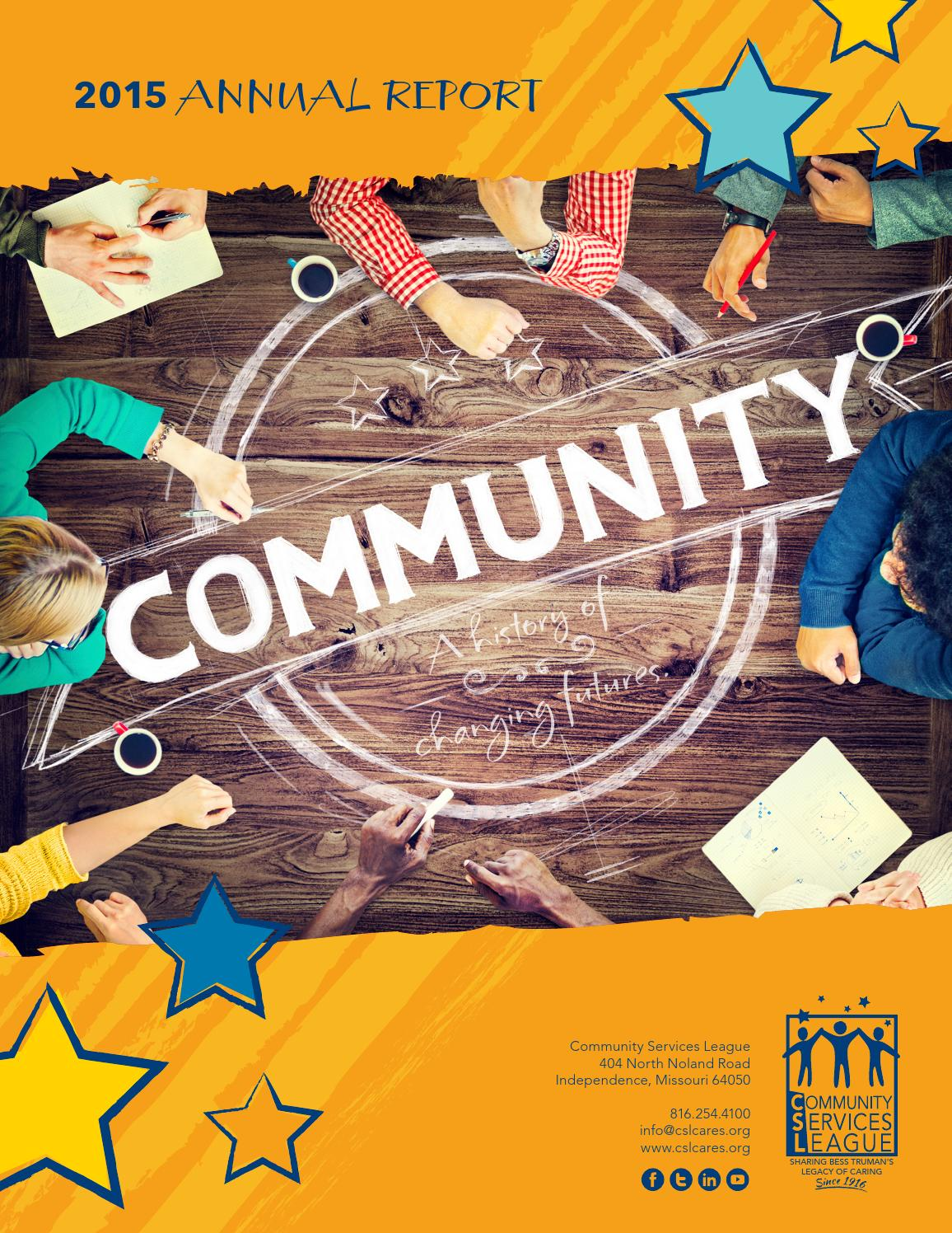 community services league 2015 annual report by ccp123 issuu