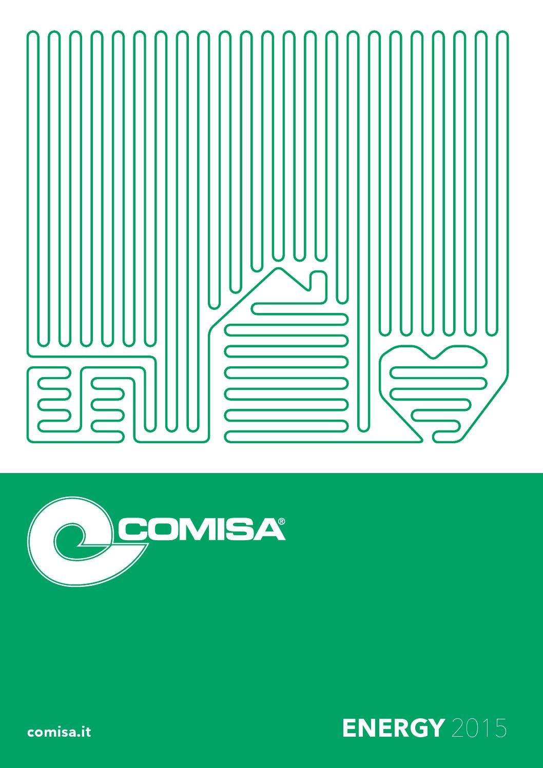 Riscaldamento A Pavimento Ribassato Spessore comisa energy - catalogo by turco rappresentanze - issuu