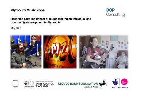 Reaching Out The Impact Of Music Making On Individual And