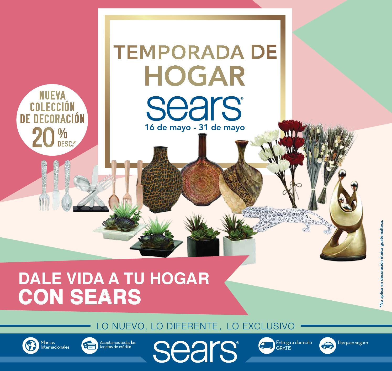 Temporada de Hogar by Sears Guatemala - issuu