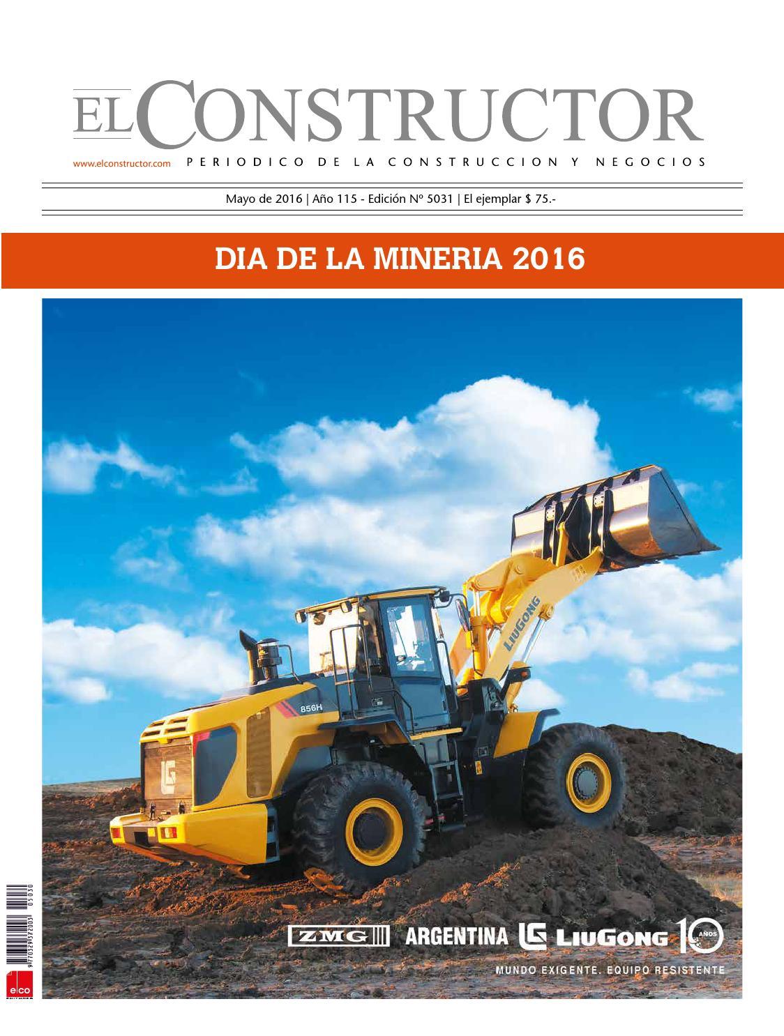El Constructor Especial Día de la Mineria by ELCO Editores - issuu