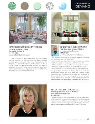 Junejuly 2016 By St Louis Homes Lifestyles Issuu