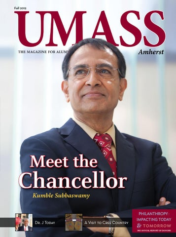 Umass Amherst Magazine Fall 2012 By University Of Massachusetts