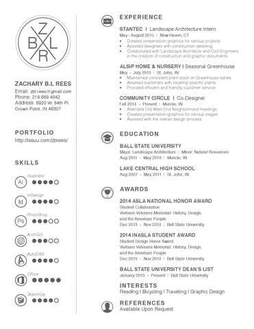 landscape architect resume - Kubre.euforic.co