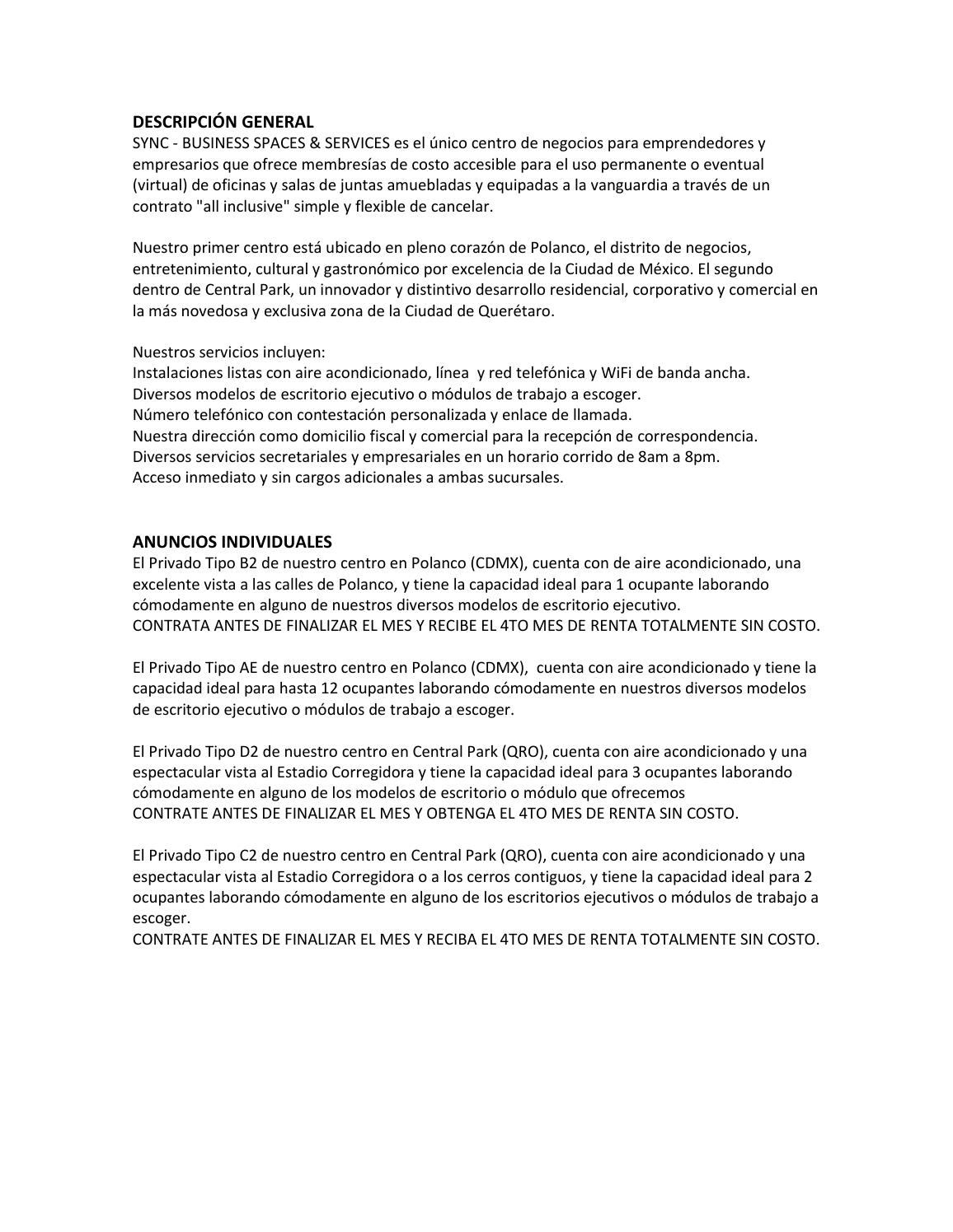 Renta De Oficinas Amuebladas Y Virtuales En Polanco Df Y