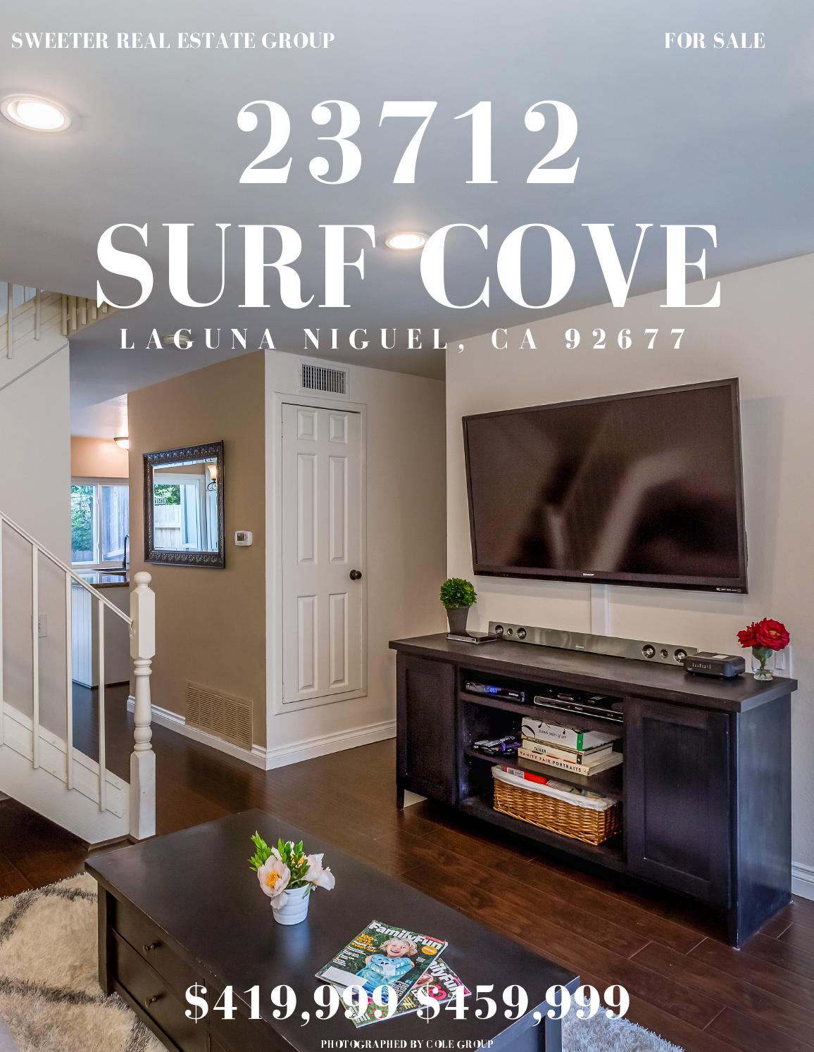 23712 Surf Cove Laguna Niguel CA 92677 By Sweeter Real