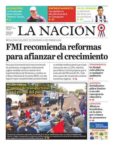 DIARIO LA NACIÓN EDICIÓN 7.624 by La Nación - issuu