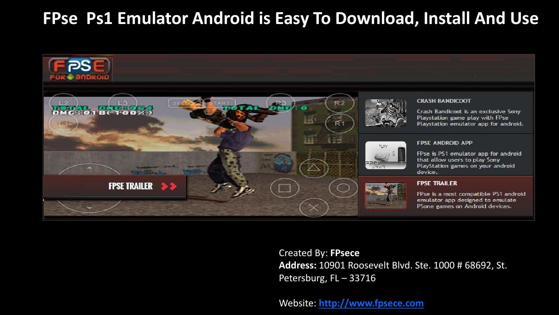 ps one emulator