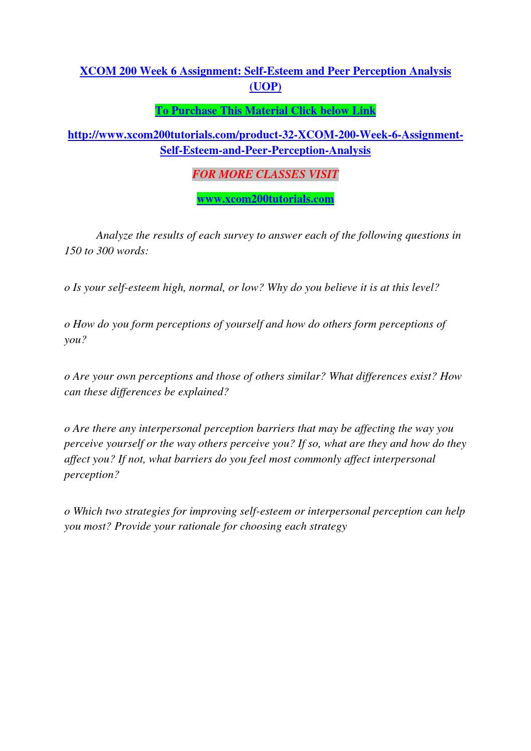 self esteem and peer perception survey 102 march of dimes youth health education series teen 2 teen self esteem, peer pressure, & stress management note to presenters: the information in this chapter can be presented separately or can be integrated.