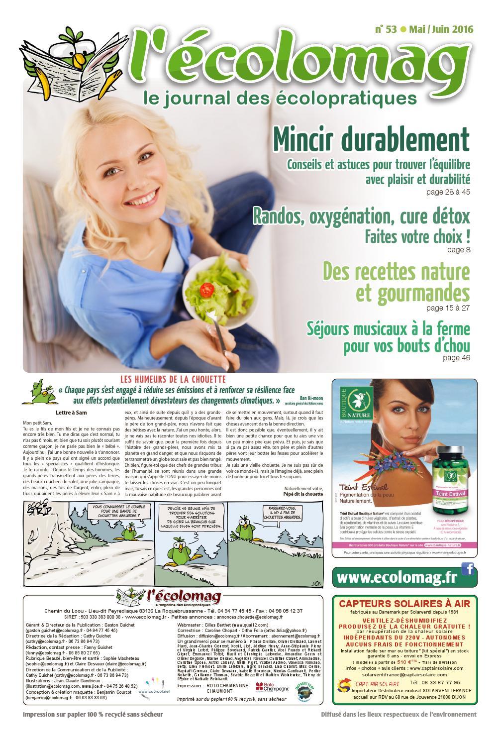 L Ecolomag n°53 by L Ecolomag - issuu 467581256fa0