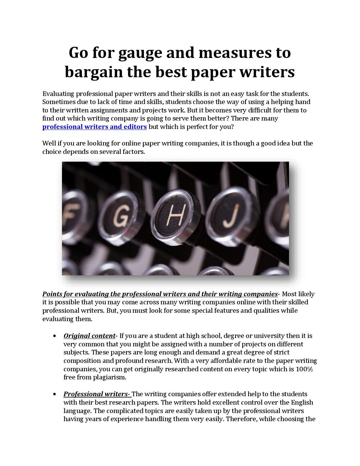 the writers company