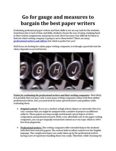 Custom research paper